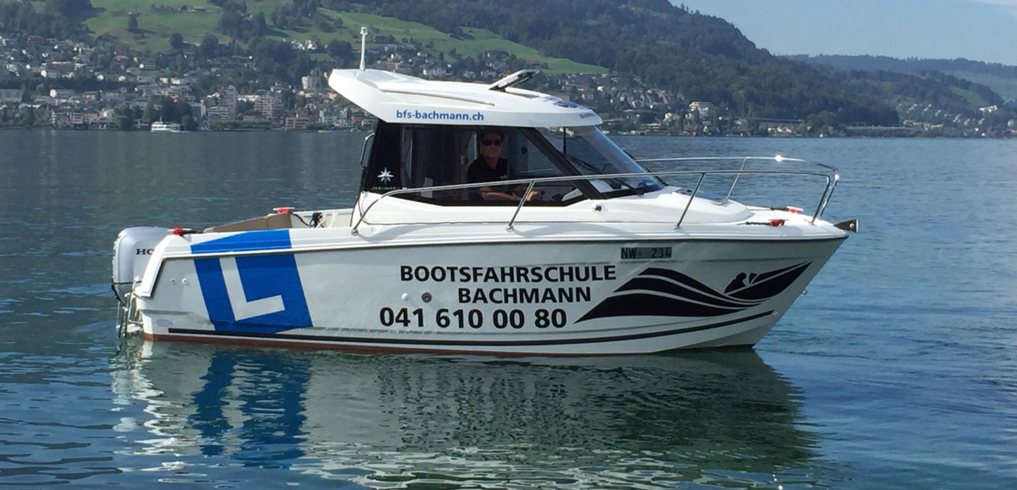 Neues Fahrschulboot Jahrgang 2015